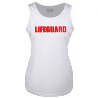LADIES LIFEGUARD WHITE COOLTEX VEST
